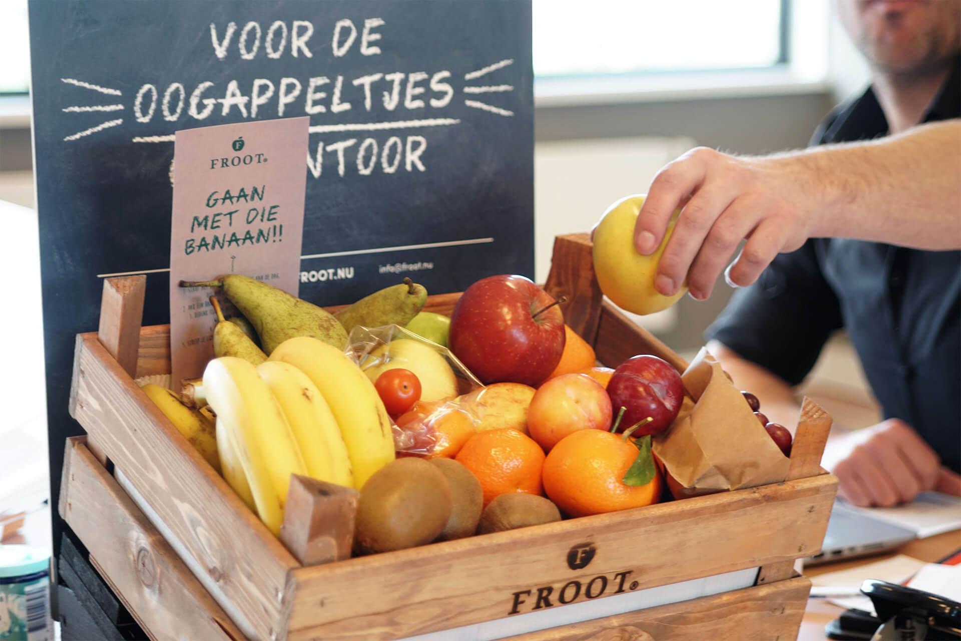 Fruit Op Kantoor : Gratis fruitkrat voor op het werk froot
