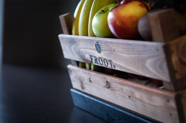 fruit op kantoor van froot